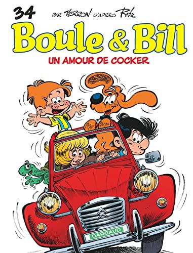 9782505017097: Boule & Bill, tome 34 : Un amour de cocker