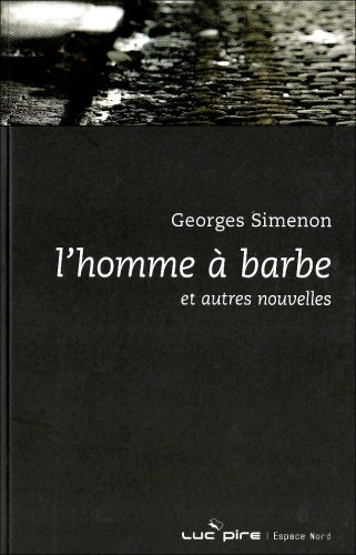 9782507001254: L'homme à barbe (French Edition)