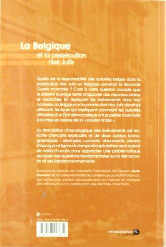 La Belgique et La Persécution Des Juifs: Roekens, Anne