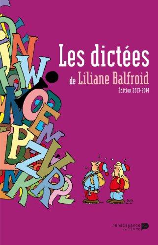 9782507051990: Les dictees du balfroid
