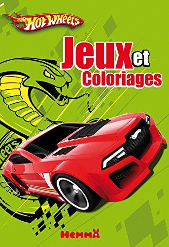 9782508002625: Jeux et coloriages avec autocollants hot wheels
