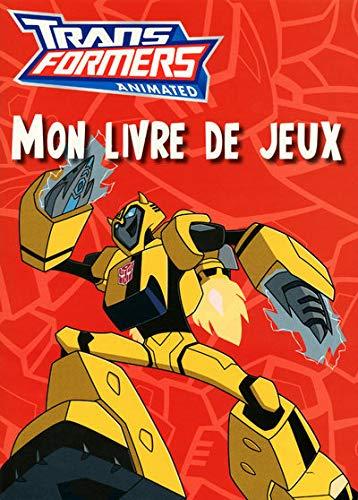 9782508004124: Transformers animated : mon livre de jeux