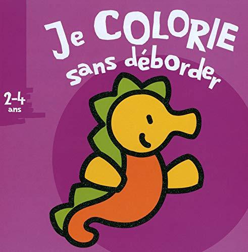 9782508006036: Je colorie sans déborder Hypocampe : 2-4 ans