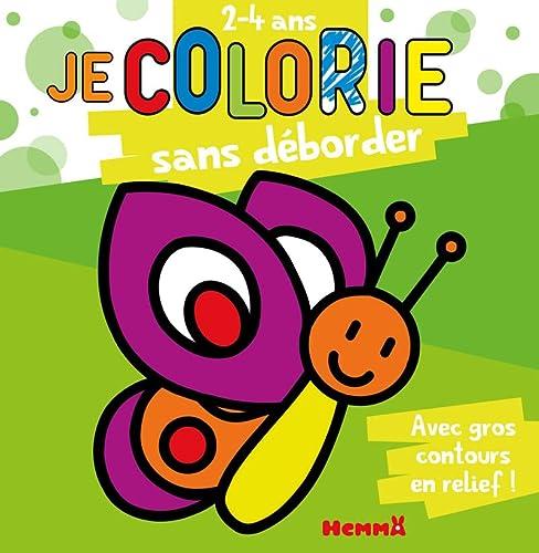 9782508006043: Je colorie sans déborder : 2-4 ans