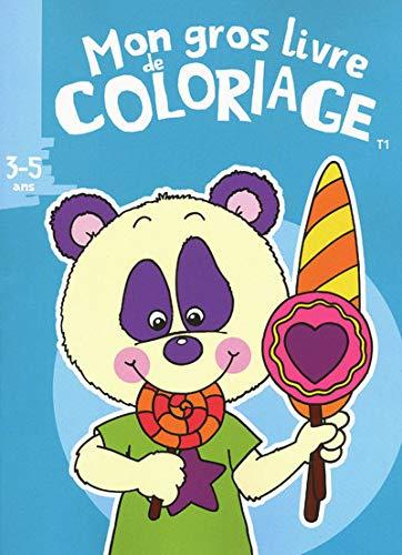 9782508006777: Mon gros livre de coloriage 3-5 ans : Tome 1 (French edition)