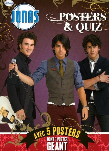 9782508007286: Jonas Posters et quiz (French Edition)