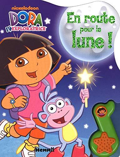 9782508008719: Dora l'exploratrice - En route pour la lune