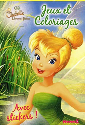 9782508009044: Jeux et coloriages la fée Clochette (French Edition)