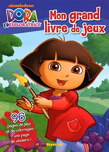 9782508018015: Mon grand livre de jeux Dora l'exploratrice (French Edition)