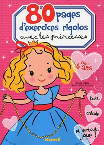 9782508018688: 80 PAGES D'EXERCICES RIGOLOS AVEC LES PRINCESSES