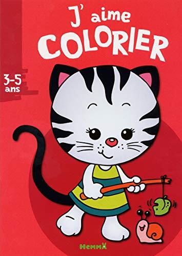 9782508019777: J'aime colorier : Petit chat tigré (3-5 ans)