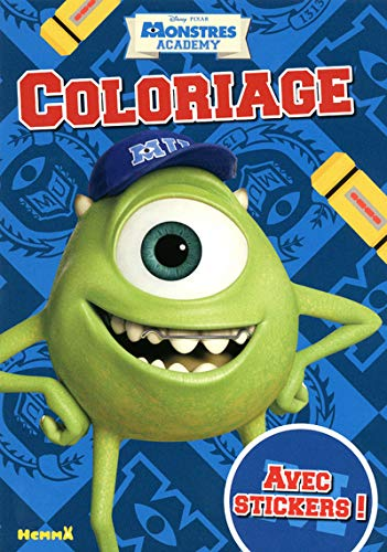 9782508021190: Coloriage Monstres Academy