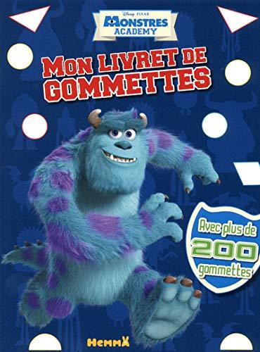9782508021213: MONSTRES ACADEMY MON LIVRET DE GOMMETTES