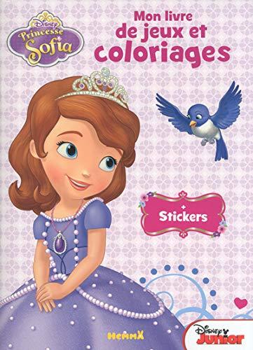 9782508022517: Princesse Sofia - Mon livre de jeux et de coloriages + stickers