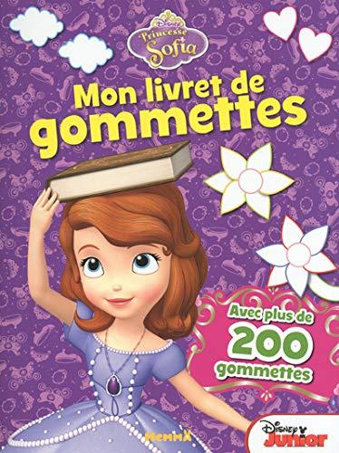 9782508022524: Princesse Sofia mon livret de gommettes