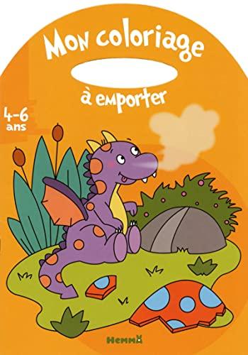 9782508023828: Mon coloriage à emporter (4-6ans) (Dragon)