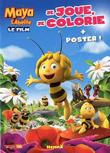 9782508027833: Maya L'Abeille Le film - Je joue, je colorie + Poster