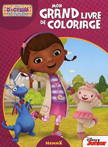 9782508028830: Docteur la Peluche - Mon grand livre de coloriage