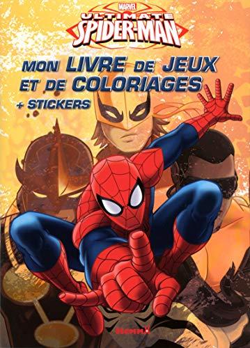 9782508029400: Ultimate Spider-man, mon livre de jeux et de coloriages : + stickers