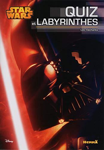 9782508029813: Disney Star Wars - Quiz et Labyrinthes - Les méchants