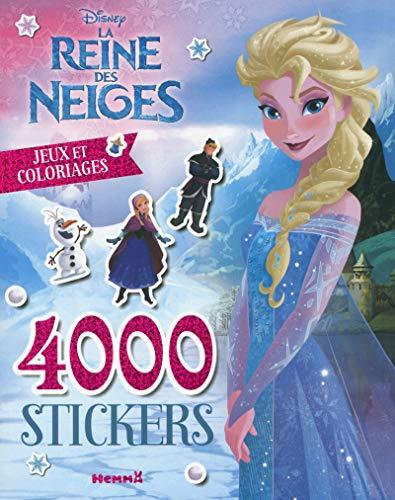9782508030697: 4000 stickers, jeux et coloriages La Reine des Neiges