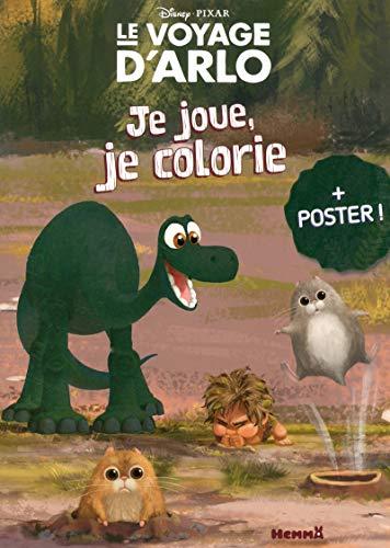 9782508030895: Disney Pixar - Le Voyage d'Arlo - Je joue, je colorie + poster