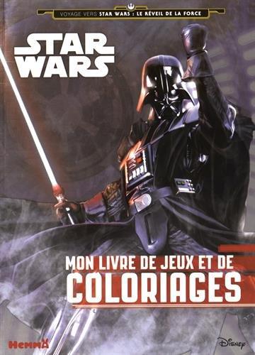 9782508030925: Mon livre de jeux et de coloriages Star Wars