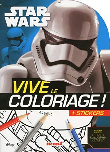 9782508031434: Disney Star Wars - Le R�veil de la Force Ep VII - Vive le coloriage