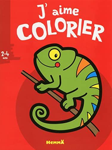 9782508031748: J'aime colorier : Cam�l�on