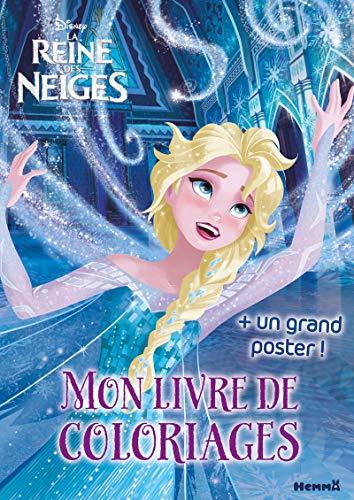 9782508038136: Disney - La Reine des Neiges - Mon livre de coloriages + un grand poster