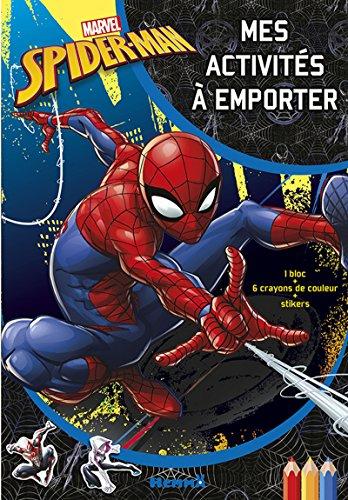 9782508040740: Marvel Spider-Man - Mes activités à emporter