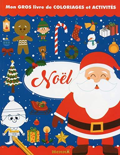 9782508040948: Mon gros livre de coloriages et activités - Noël