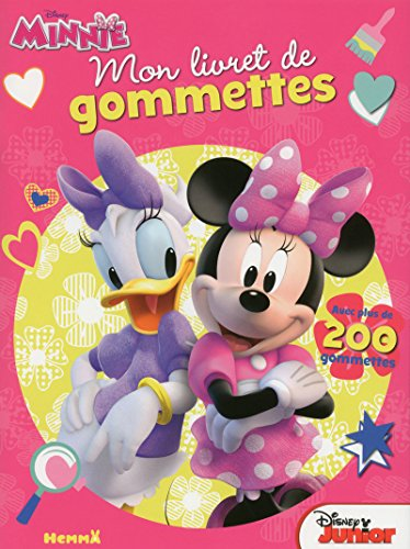 9782508041129: Disney Minnie Junior - Mon livret de gommettes