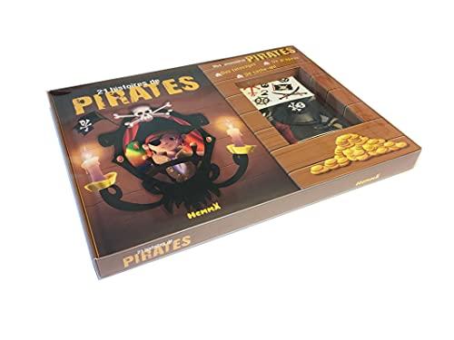 9782508042058: Coffret - 21 histoires de pirates (fond bois)