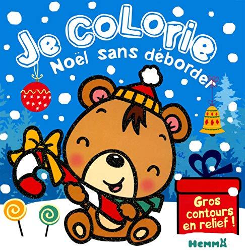 9782508042096: Je colorie Noël sans déborder (Ourson Brun)