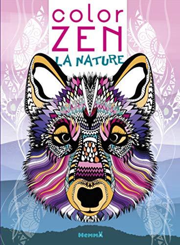 9782508045189: Color Zen - La nature (Loup)
