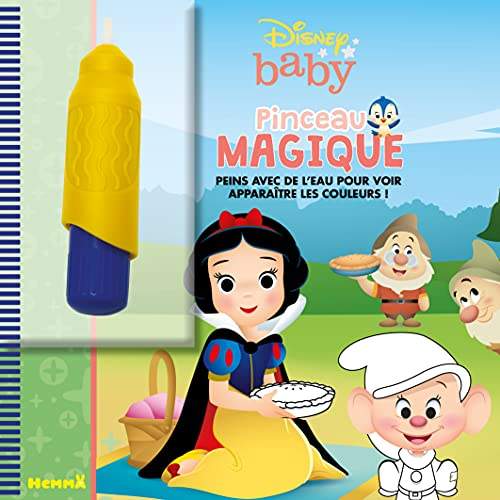 9782508045714: Disney Baby - Pinceau magique (Blanche-Neige)