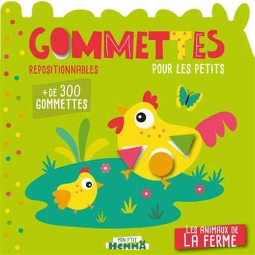 9782508046384: Mon P'tit Hemma - Gommettes pour les petits - Les animaux de la ferme