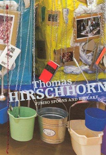 9782551235728: Thomas Hirschhorn: Jumbo Spoons & Big Cake