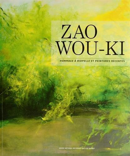 9782551237203: Zao Wou-Ki : Hommage à Riopelle et peintures récentes