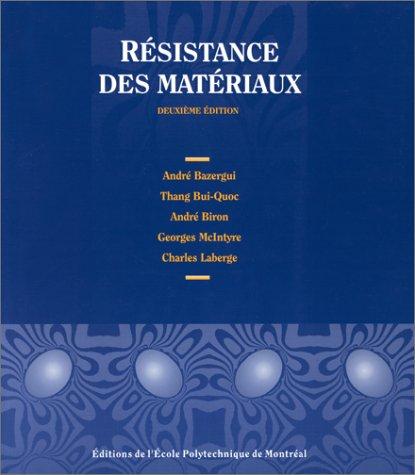 9782553001994: Resistance des matériaux