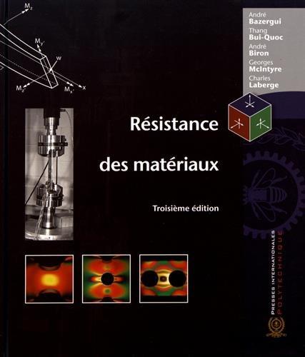 RESISTANCE DES MATERIAUX -3 ED-: COLLECTIF