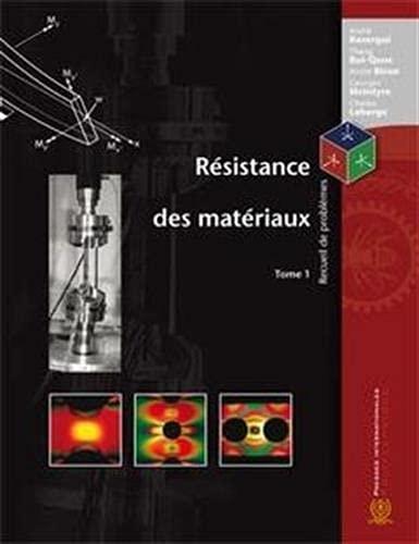 9782553010354: resistance des mateiraux recueil de problemes tome 1 3eme edition (French Edition)