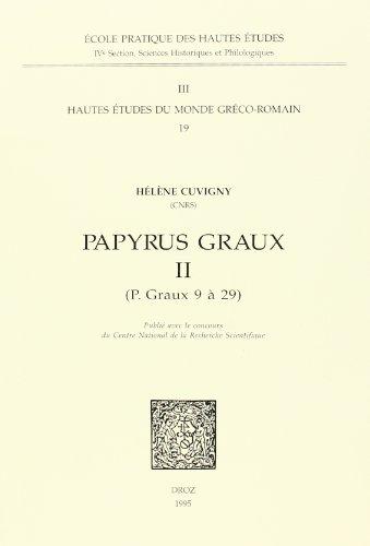 9782600000413: Papyrus Graux II