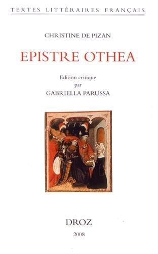 9782600003766: Christine de Pizan: Epistre Othea (Textes Litteraires Francais) (French Edition)