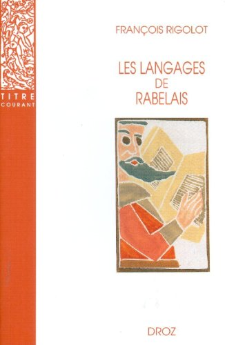 9782600005067: Les Langages de Rabelais