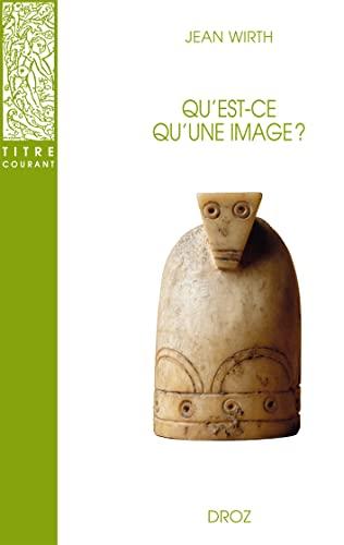 9782600005500: Qu'Est-Ce Qu'une Image ?