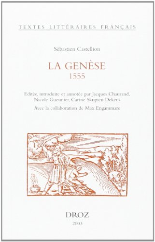 GENESE 1555: CASTELLION S