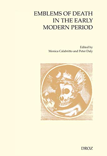 9782600015578: Emblems of Death in the Early Modern Period
