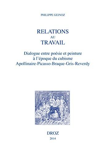 9782600017947: Relations au Travail